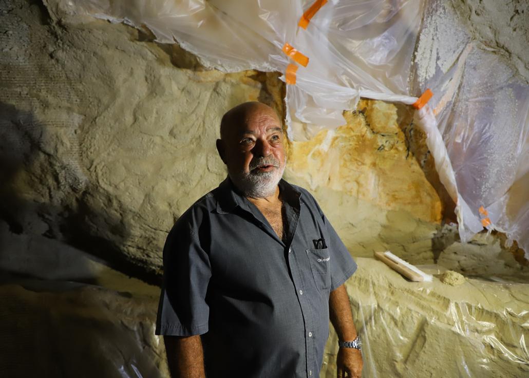 Henri Cosquer réplique grotte Cosquer