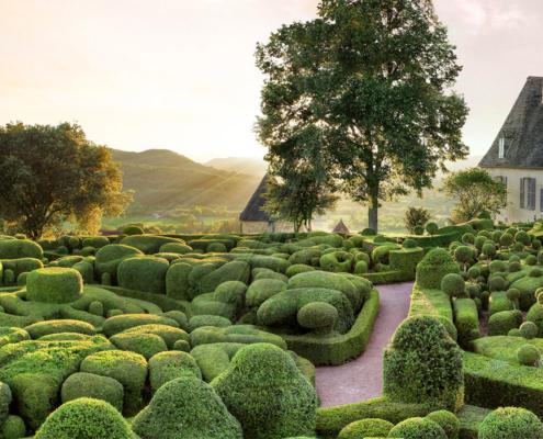 valorisation du patrimoine jardins de marqueyssac