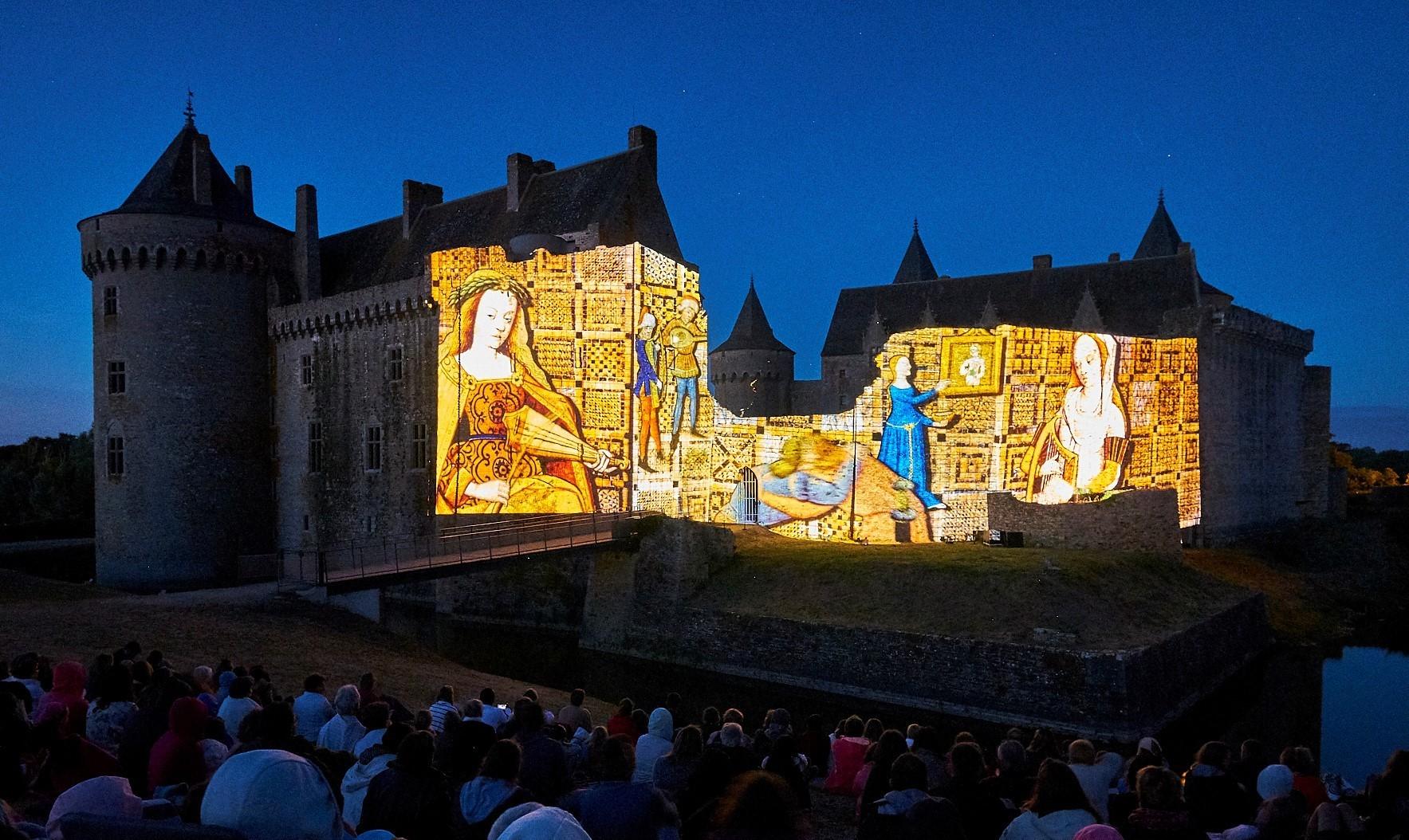 Son et lumière château de Suscinio