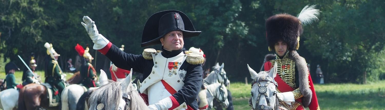 250ème anniversaire de Napoléon Bonaparte Mémorial Waterloo 1815