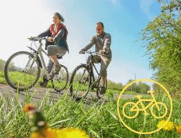 randonnée vélo champ de bataille waterloo