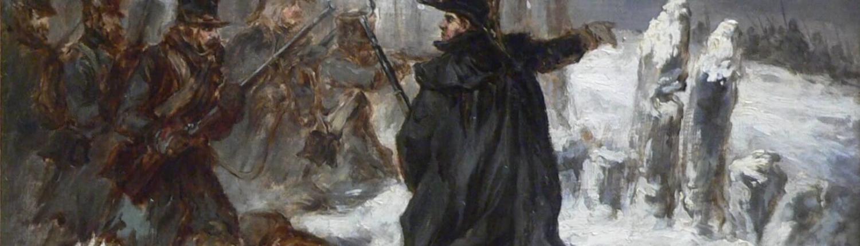Le maréchal Ney à la redoute de Kovno