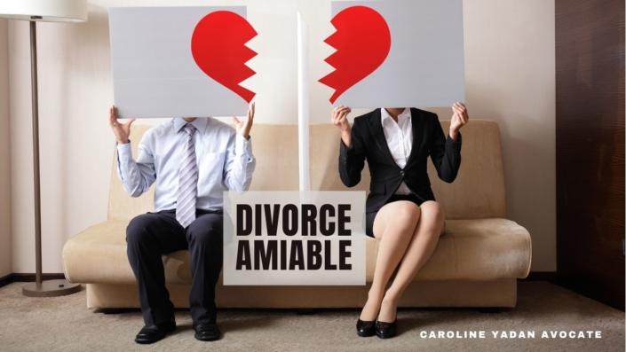 Divorce amiable par consentement mutuel